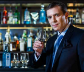 Bombay Sapphire master distiller, Nik Fordham, who took his new position as a 'once in a lifetime' opportunity