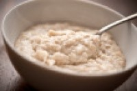 Oatmeal's viscous fiber promotes satiety, research shows.