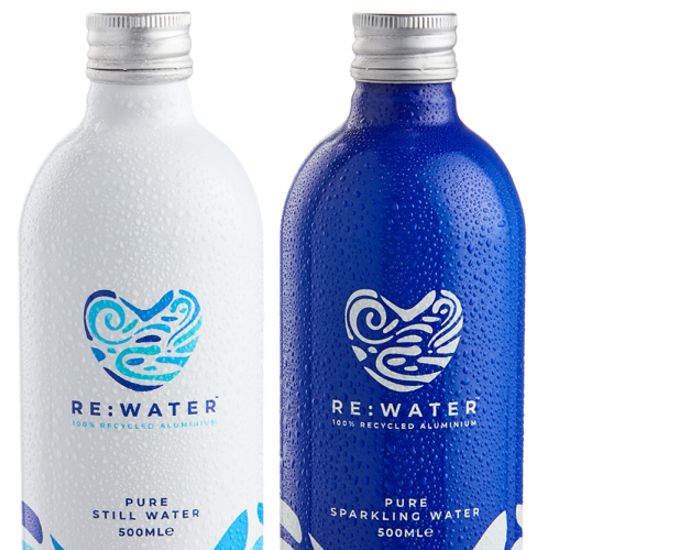 <p>Re:Water develops'world first' 100% recycled aluminium bottle:'It's cutting single-use packaging, plastics and carbon emissions' thumbnail